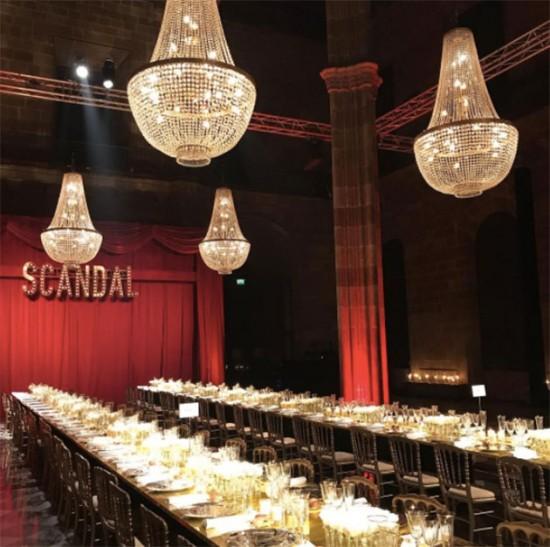 Jean Paul Gaultier lançou o perfume Scandal no famoso Hôtel de Béhague! Vem ver mais