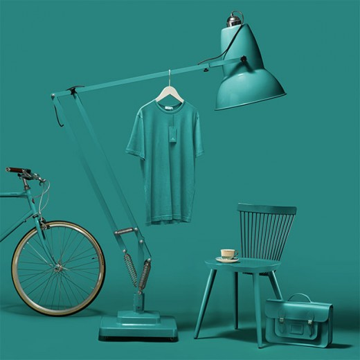 "Marrs green, a ""cor preferida do mundo"" segundo uma empresa de papel. Que tal?"
