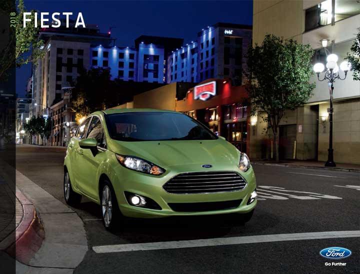 2018 Fiesta Brochure