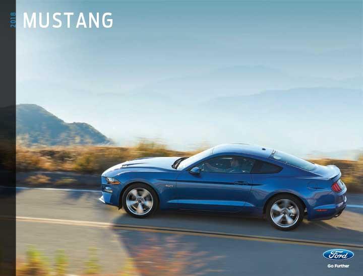2018 Mustang Brochure