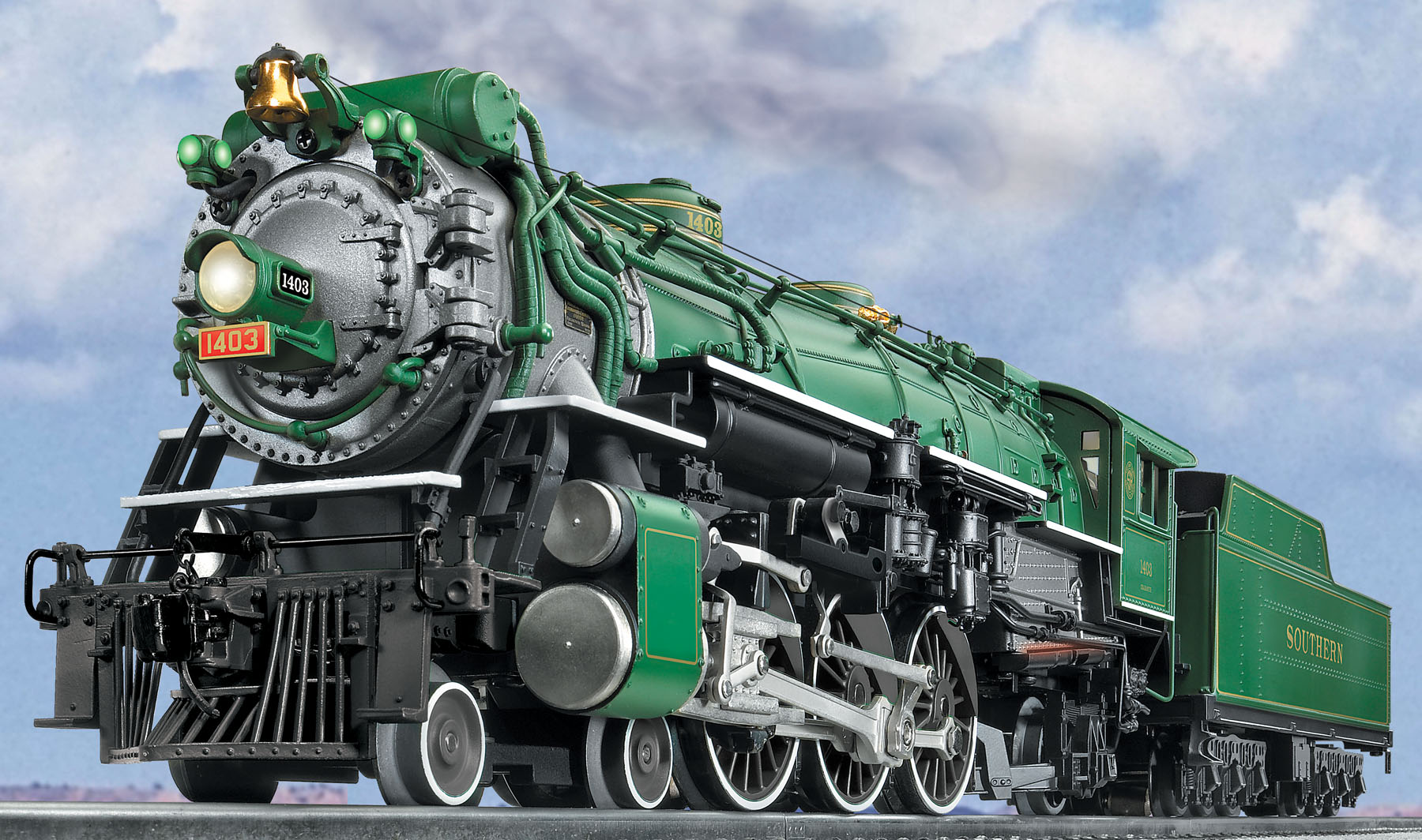SOUTHERN PS-4 SCALE 4-6-2 PACIFIC #1403 SKU: 6-11103