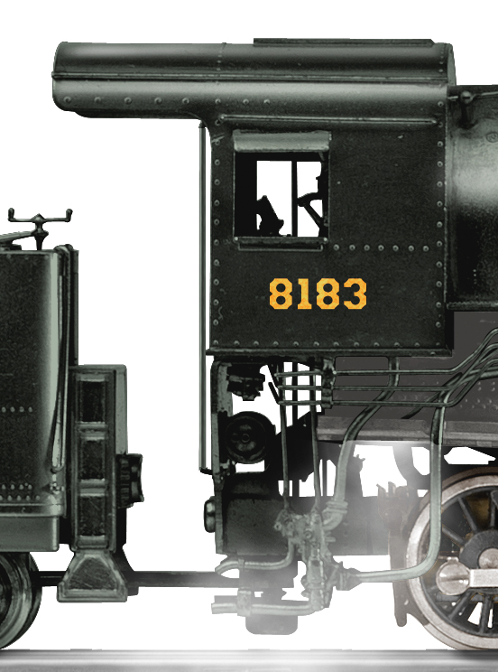 Pennslvania 0 8 8 0 Cc2 Steam Locomotive 8183