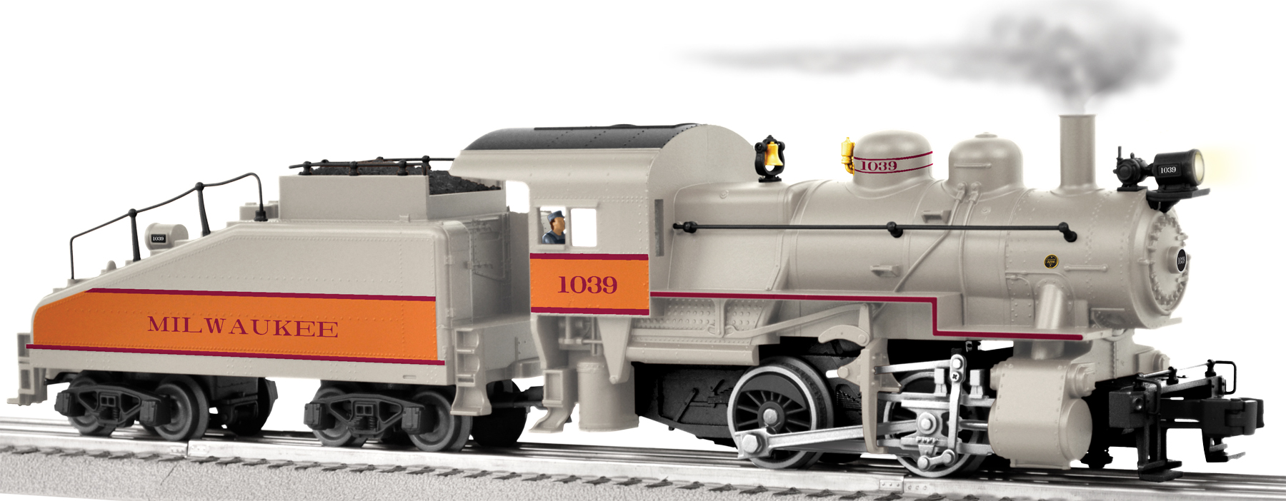 Milwaukee Road Conventional Scale 0-4-0 Steam Switcher #1039 SKU: 6-11428