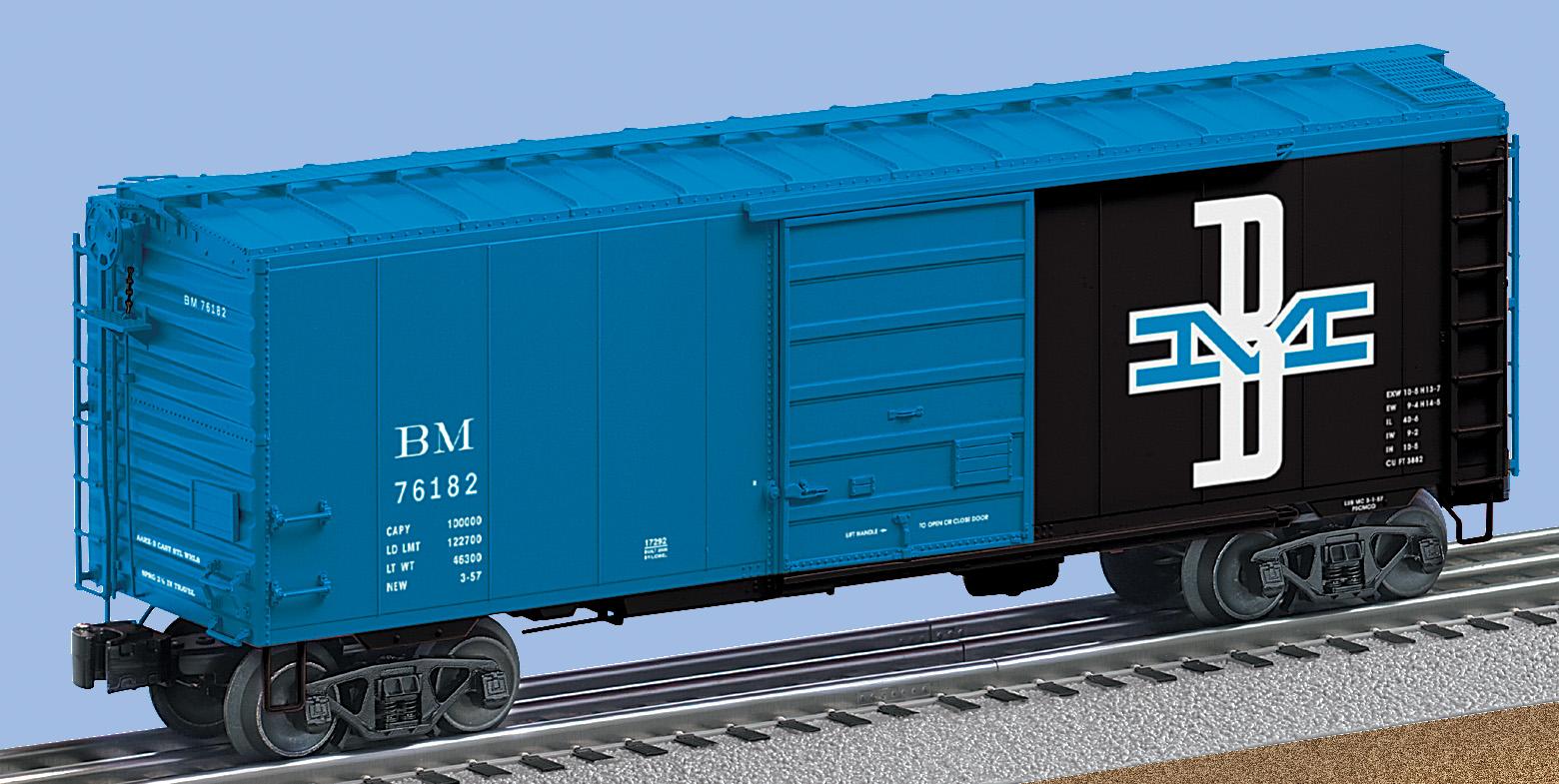 Lionel BOSTON /& MAINE PS-1 Boxcar 6-17292 NEW