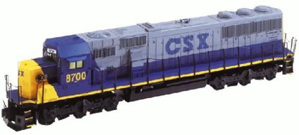 csx tmcc sd60mac 8701 rh lionel com GE Dash 9-44CW EMD SD50