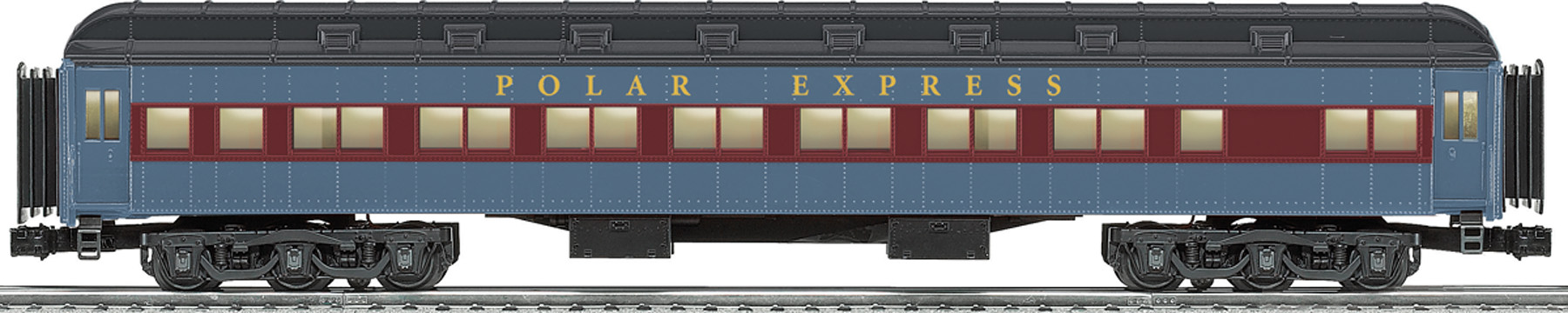 The Polar Express Trade Abandoned Toy Heavyweight Passenger Car