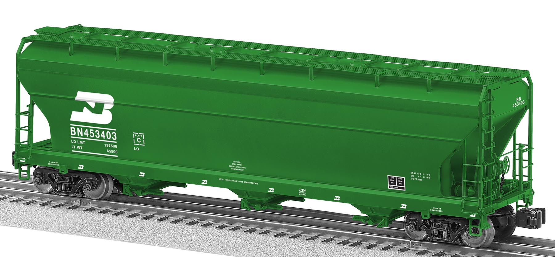 Toys For Trucks Green Bay : O scale freight car guide ton covered hoppers
