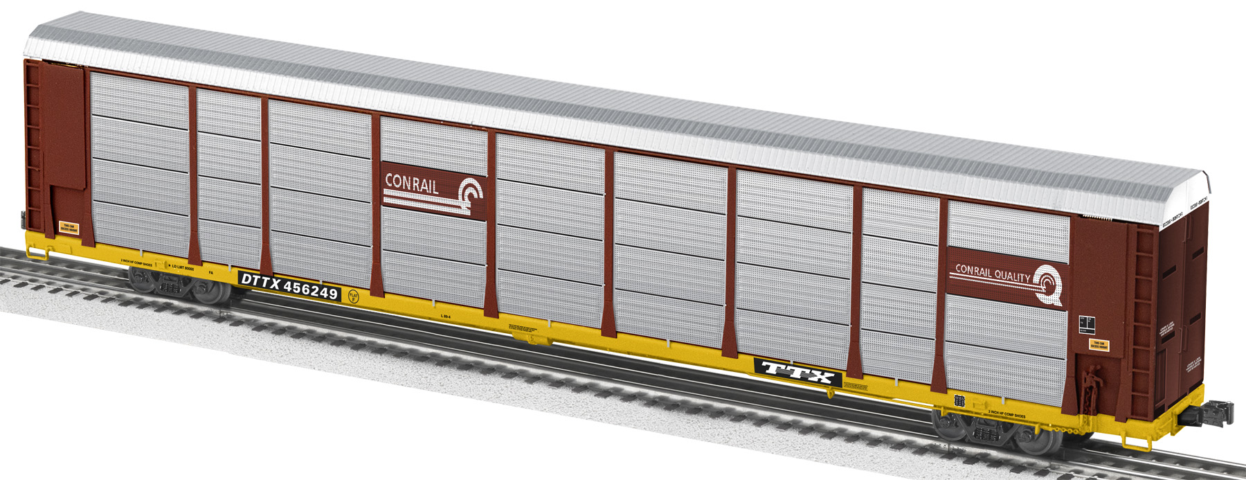 Conrail 89 39 auto rack car 456249 for Can a motor carrier broker freight