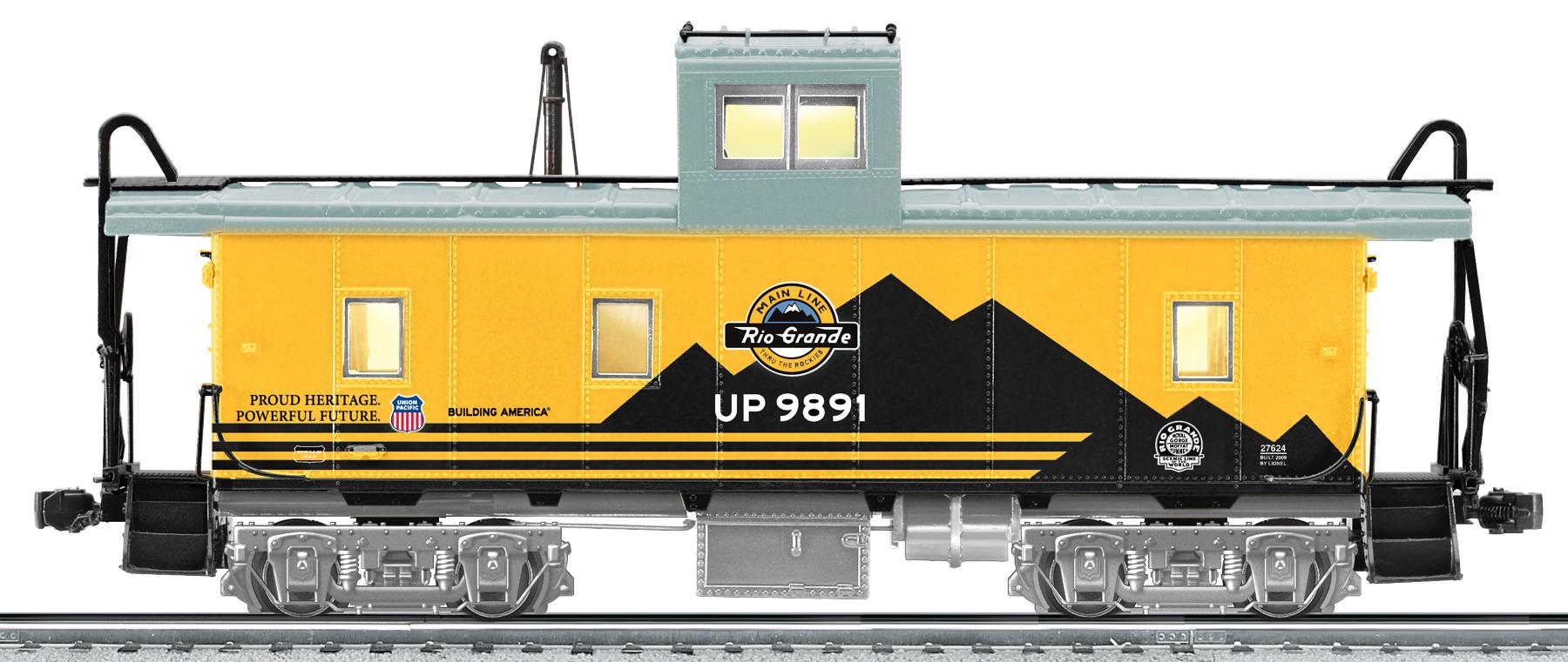 Denver & Rio Grande Western UP Heritage Ca-4 Caboose SKU: 6-27624