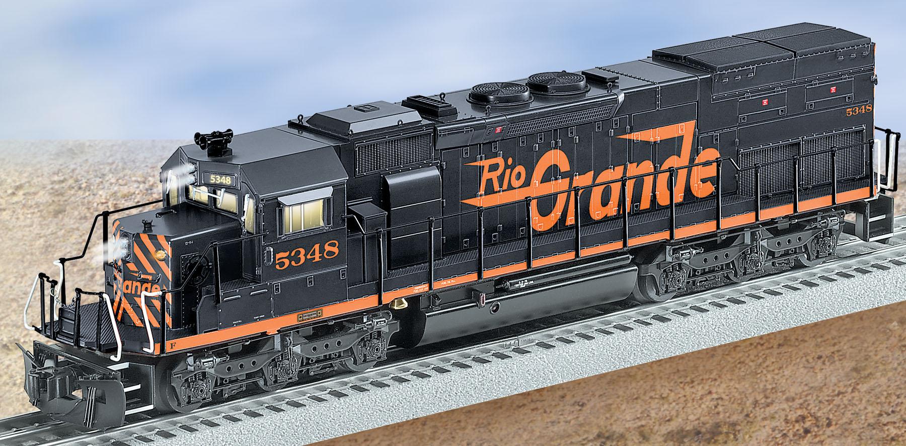 Rio Grande Conventional Sd40t 2 5348