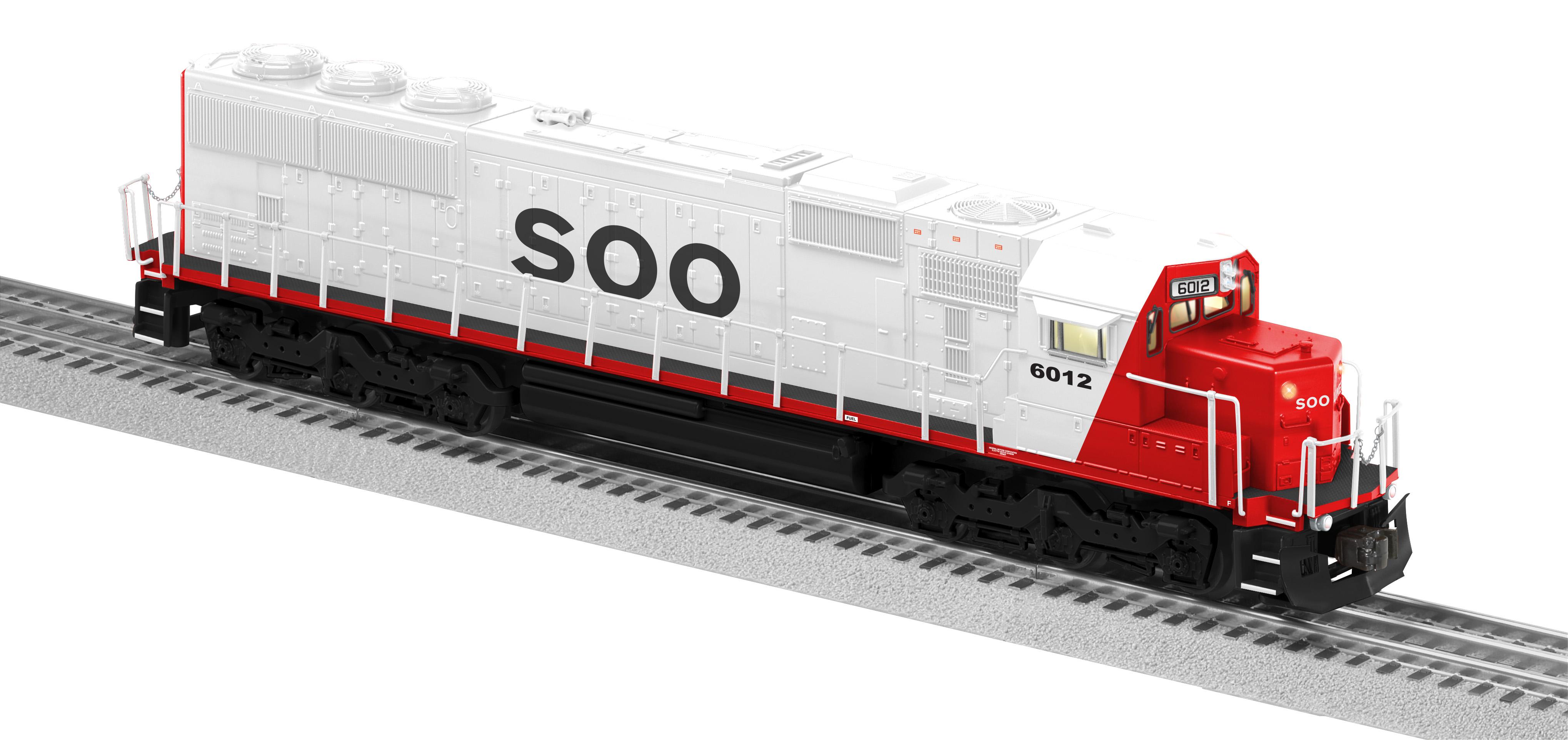 soo line legacy sd60 diesel 6012 rh lionel com Sd60mac Locomotive EMD SD50