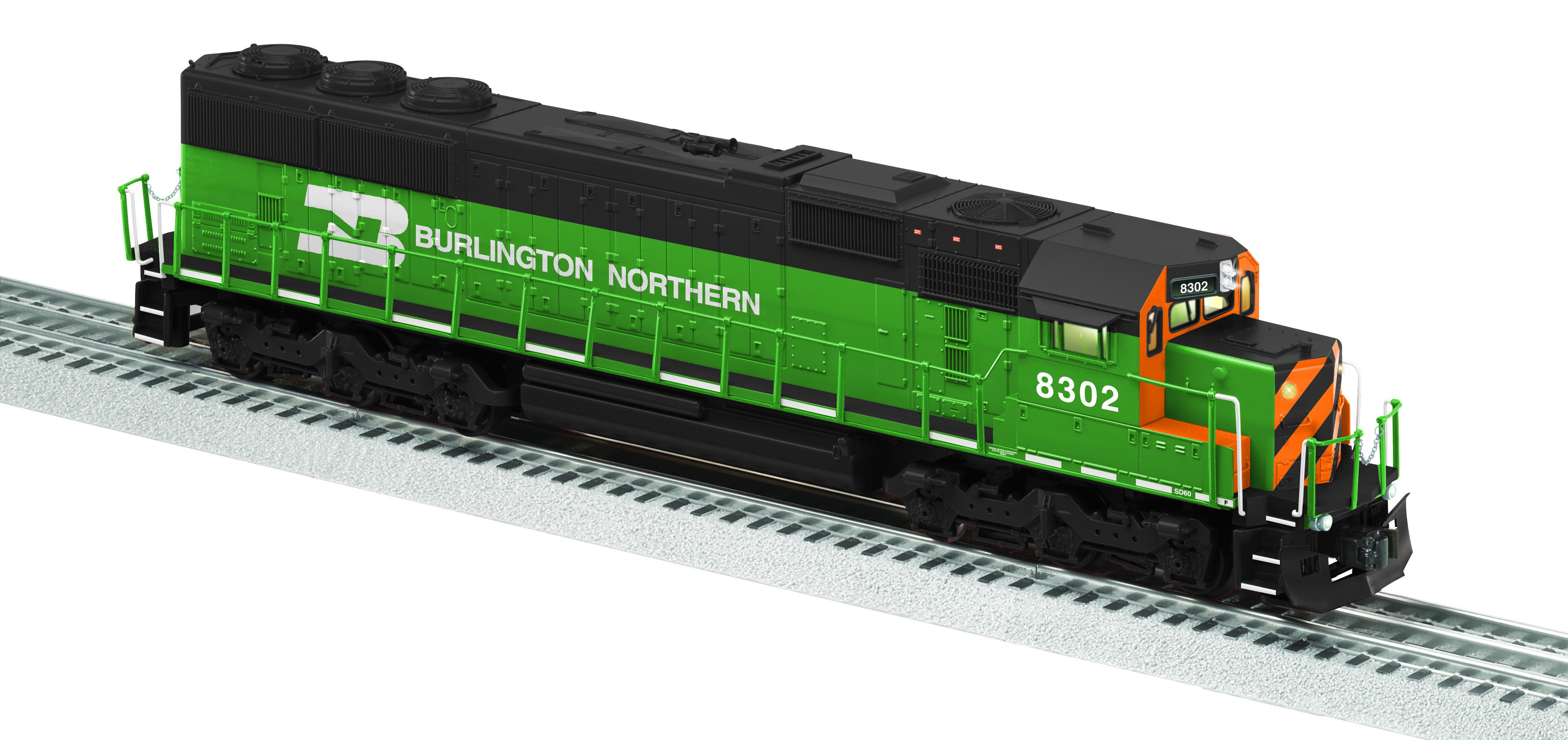 burlington northern legacy sd60 diesel 8302 rh lionel com EMD SD45 EMD SD45