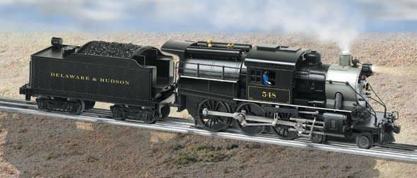 delaware hudson conventional 4 6 0 camelback 555 rh lionel com Lionel Trains Wiring Schematics Lionel Wiring Schematics Crossing