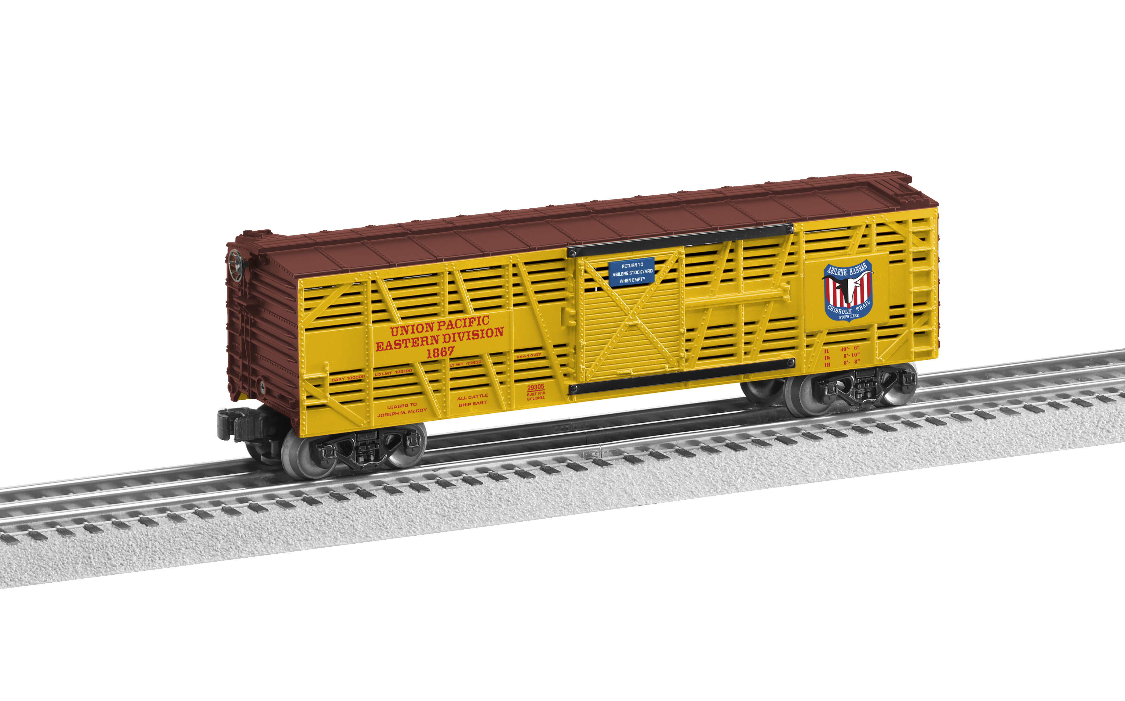 Union pacific chisholm trail stock car with sounds biocorpaavc