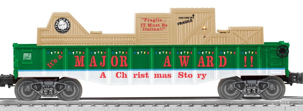 A christmas story train set