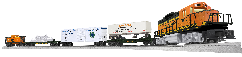Amazon.com: Lionel BNSF SD38 Maxi Stack Freight Train Set: Toys ...