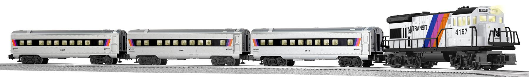 Limited Edition Historic Series Ready To Run Nj Transit Train Set