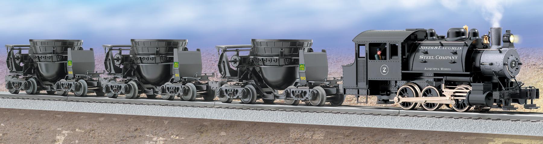 products jones laughlin steel slag train loco