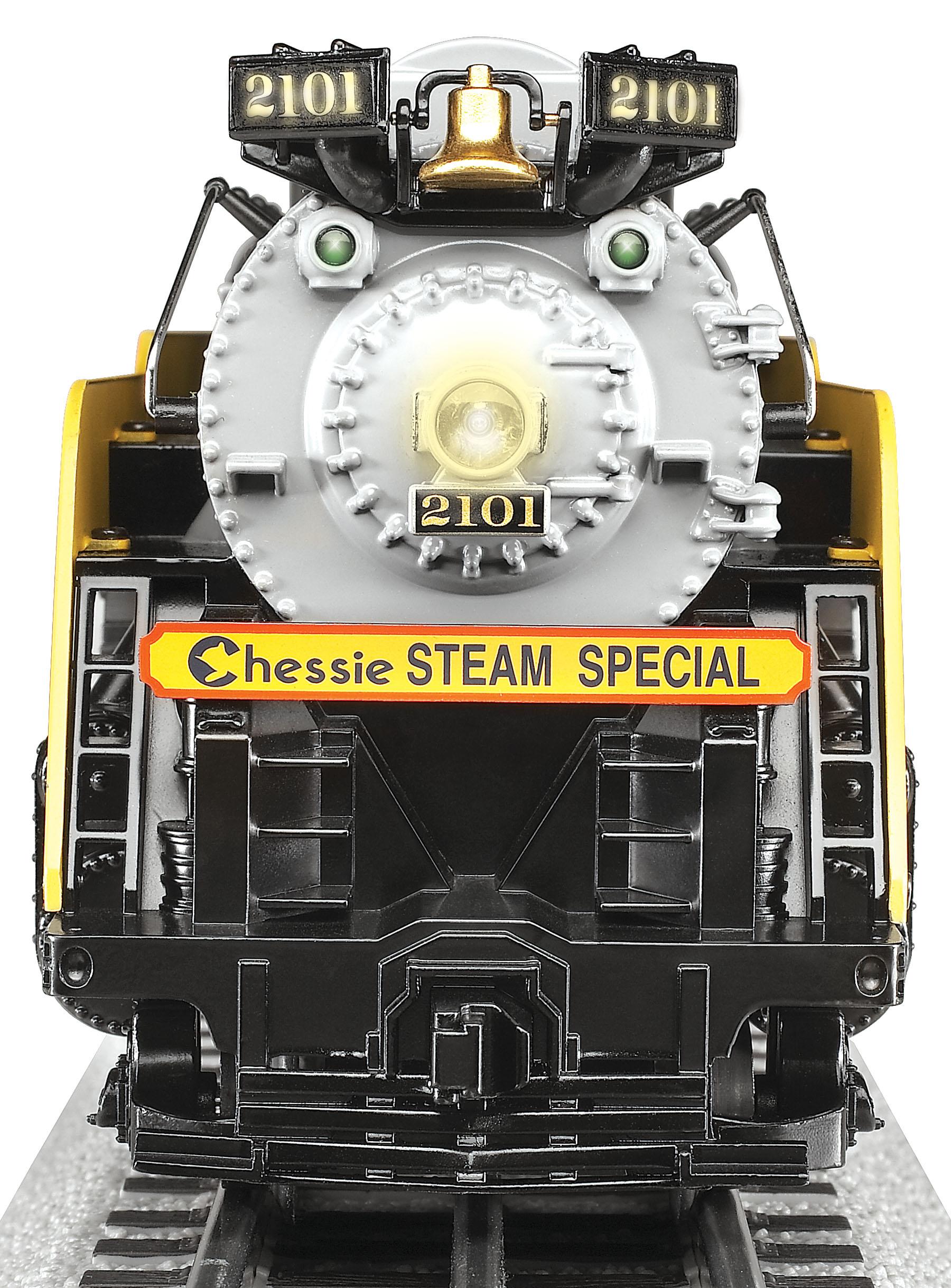 Chessie Steam Special Loco 2101