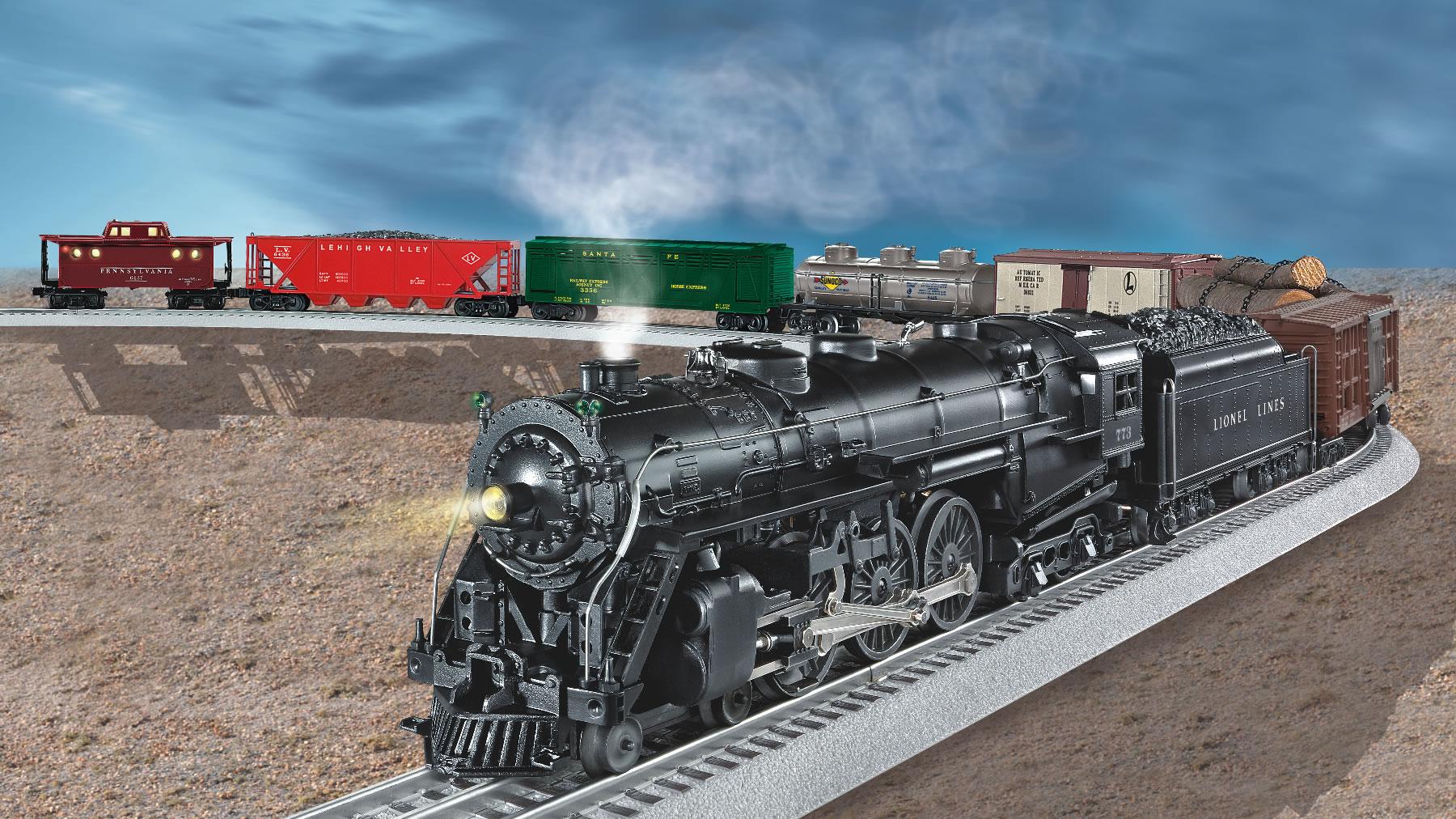 13150 Super O Steam Freight Loco 773