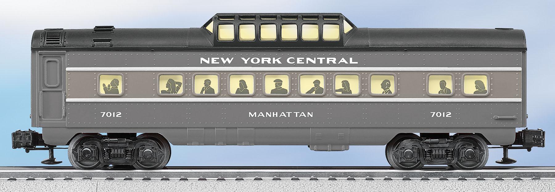 New York Central Flyer O27 Streamlined Vista Dome