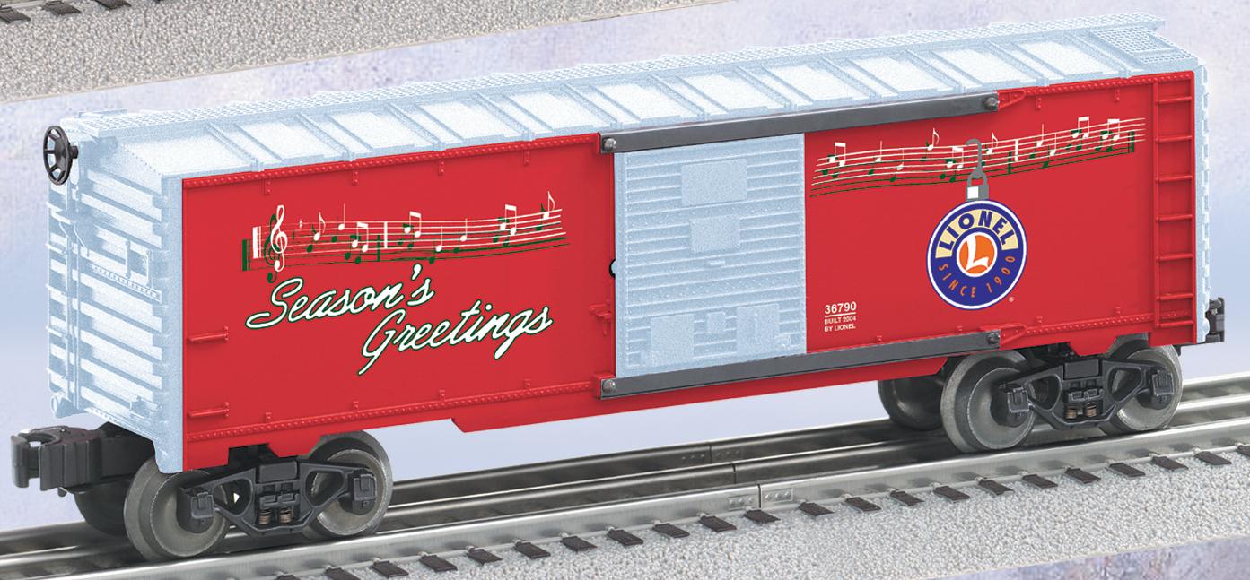 Christmas Music Boxcar SKU: 6-36790