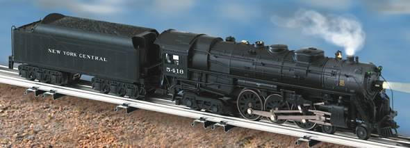 new york central lionmaster tmcc 4 6 4 j 3a hudson 5418
