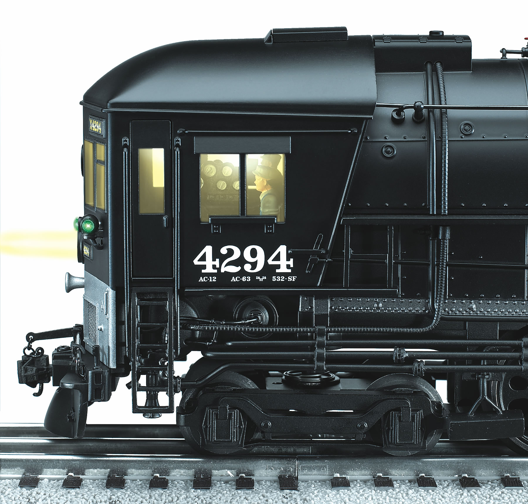 Southern Pacific Scale 4 8 8 2 Ac 12 Cab Forward 4294 Tmcc