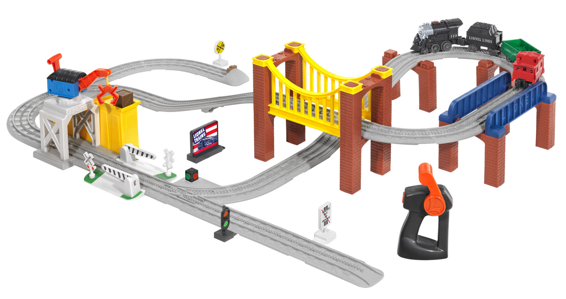 thomas the train plastic track layout instructions