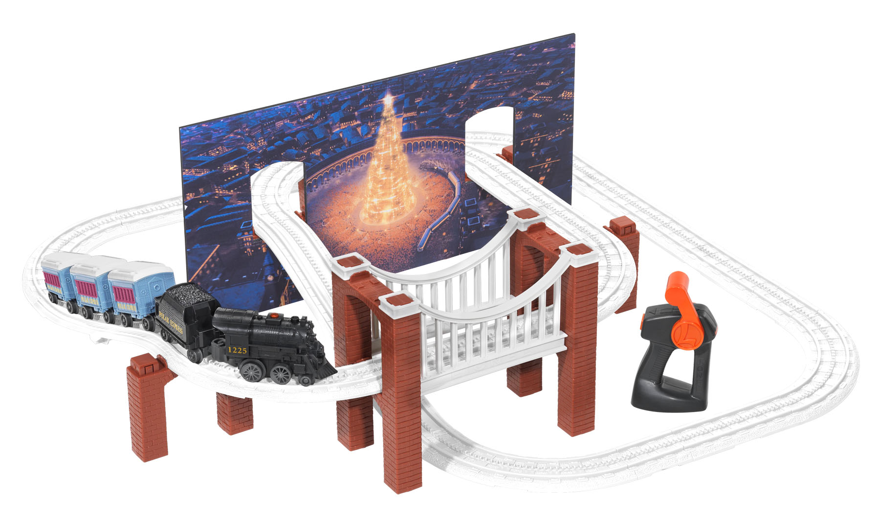 Lionel little lines the polar express playset for House of tracks