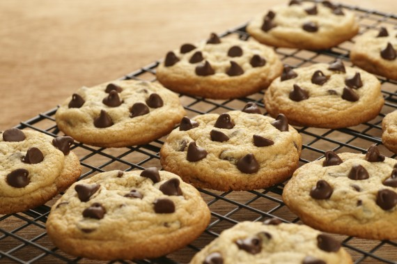 Who bakes one cookie at a time?