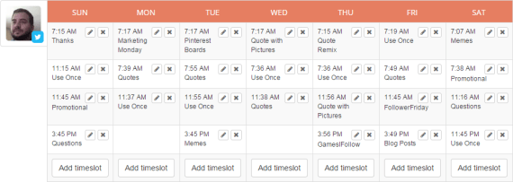 Edgar Schedule