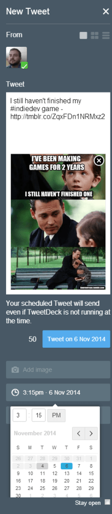 SocialMediaTweetSchedule