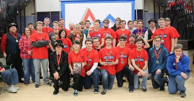 LISD TECH Center FIRST Robotics Team Competes at FIRST Robotics Conferences