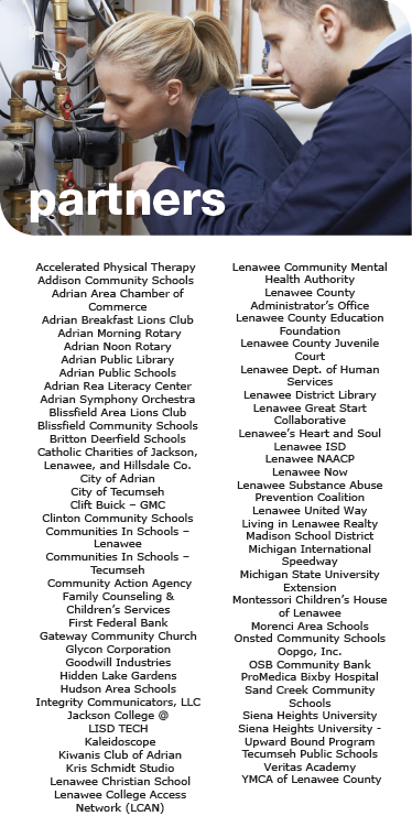 Lenawee Cradle to Career Partners