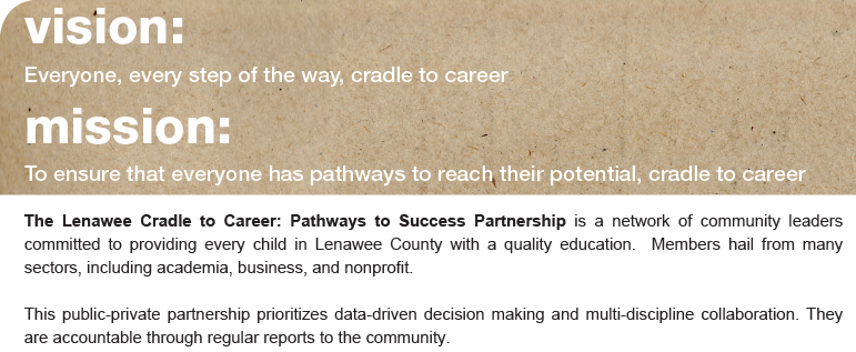 Lenawee Cradle to Career Mission and Vision Statement
