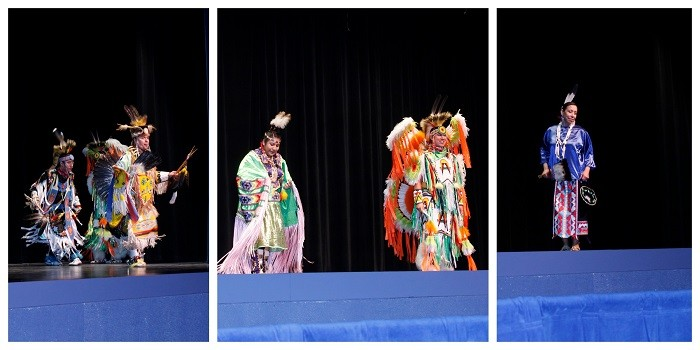 Pow Wow Song and Dance Exhibition Ziibiwing Center Performers