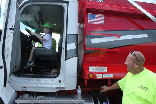 Read a Book and Touch a Truck Event at CEMaT on August 21 2016