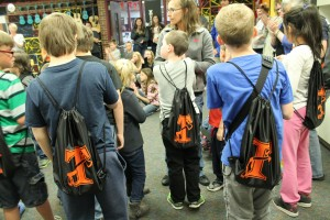 Sutton Students Support Special Olympians with Backpacks