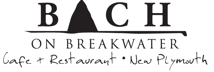 Bach on breakwater logo