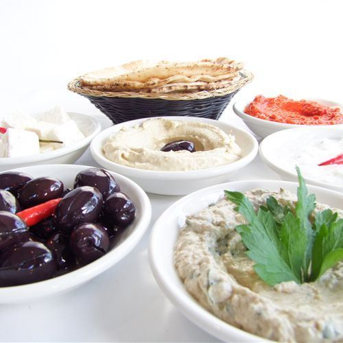 Olives and dips
