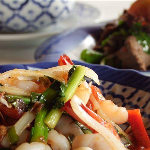Thai Prawn dish