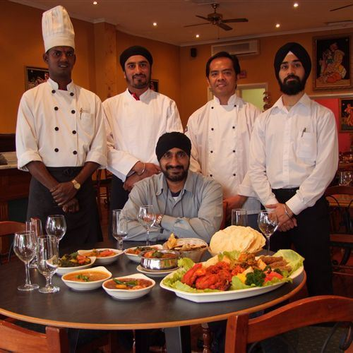 The team at Jewel of the Park Indian Restaurant