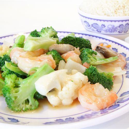 Chinese Prawns dish