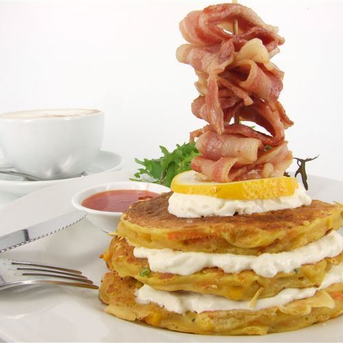 Breakfast stack