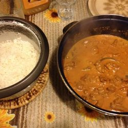 Marianna Butter Chicken dinner