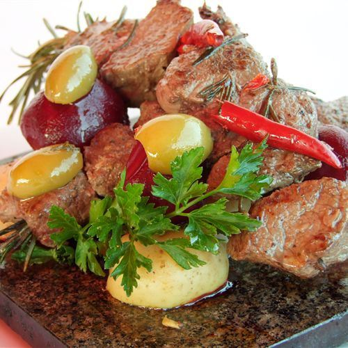 Villa Picasso Beef dish