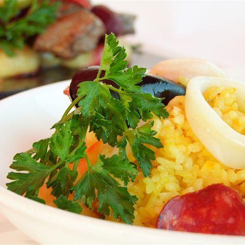Villa Picasso Rice dish