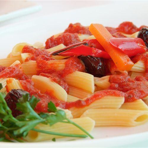 Villa Picasso Pasta dish