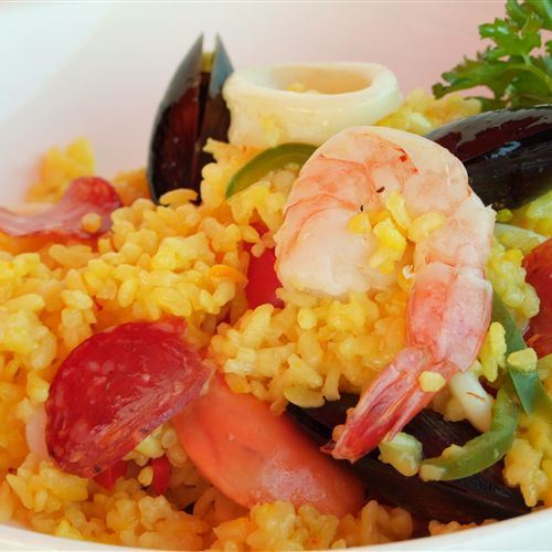Villa Picasso spicy rice